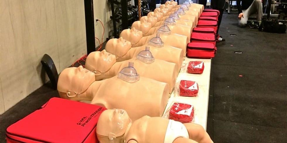 Teen (10-17 yrs old) CPR/First Aid Virtual Class