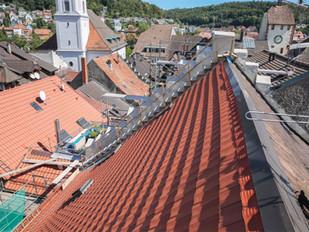 Ziegel für das Dach