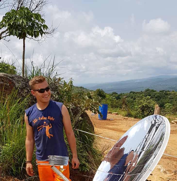 Projekt Solarkocher