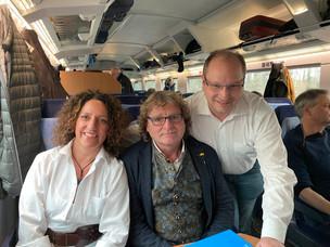 Mit der FDP unterwegs nach Berlin