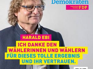 FDP Wahlergebnisse für Waldshut und Baden-Württemberg