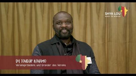 Dy Toudjip Kouamo über Augenkranheiten