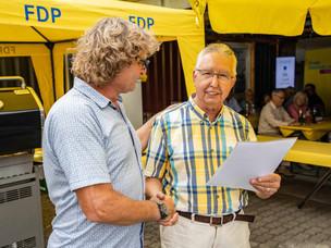 Grillfest der FDP im Juli