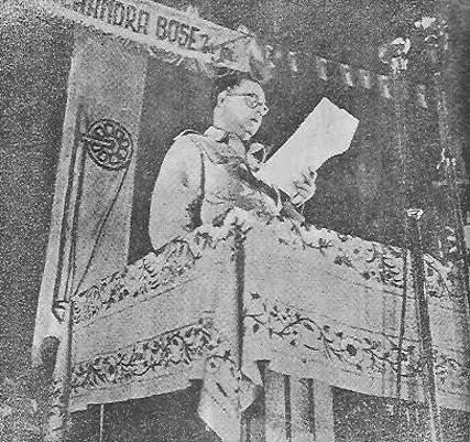 Azad Hind proclamation
