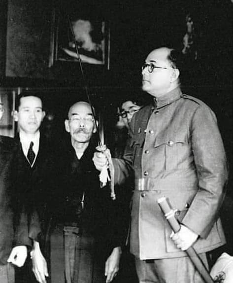Netaji and sword