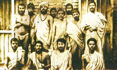 Baranagar Math inmates 1887.jpg