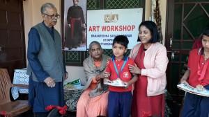 Art Workshop with Local Children