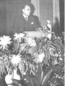 Bose in Berlin with diplomats