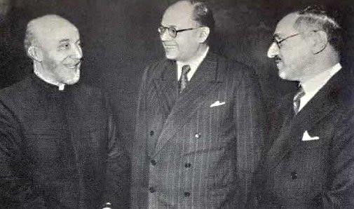 Netaji with Iraq PM and Mufti