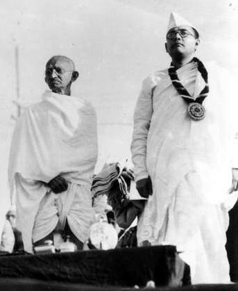 Subhas and Gandhi