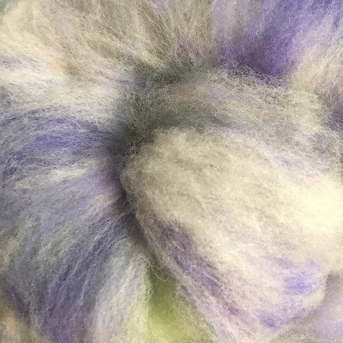Rambouillet Columbia wool batt