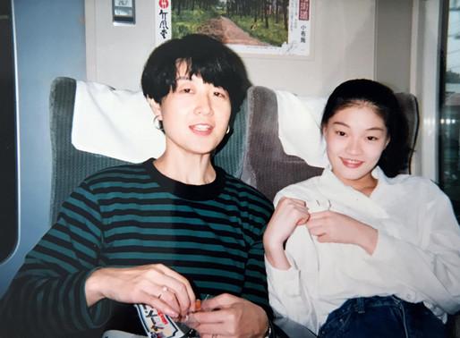 My favorite auntie, Mayumi
