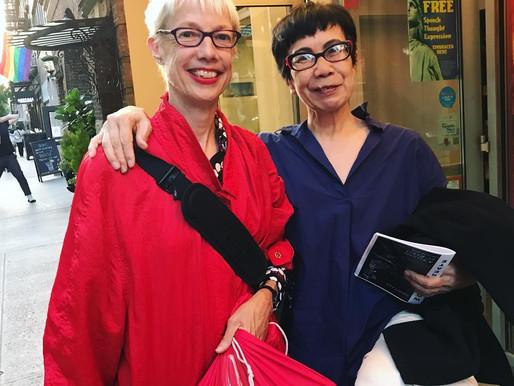 2 inspiring artist ladies.
