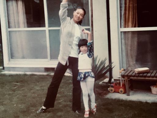 My mom, my very first ballet teacher