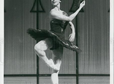 My idol, Yoko Morishita. I grew up watching her dance.