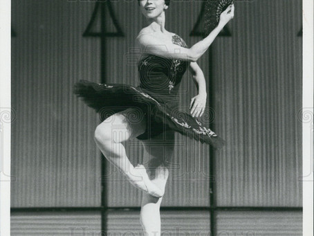 My idol, Yoko Morishita. I grew up watching her dance.