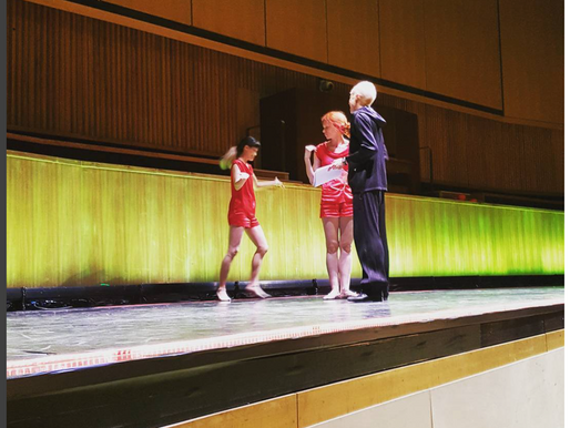 Rehearsal on stage/Royal Festival Hall