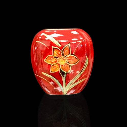 Daffodil Purse Vase 12cm