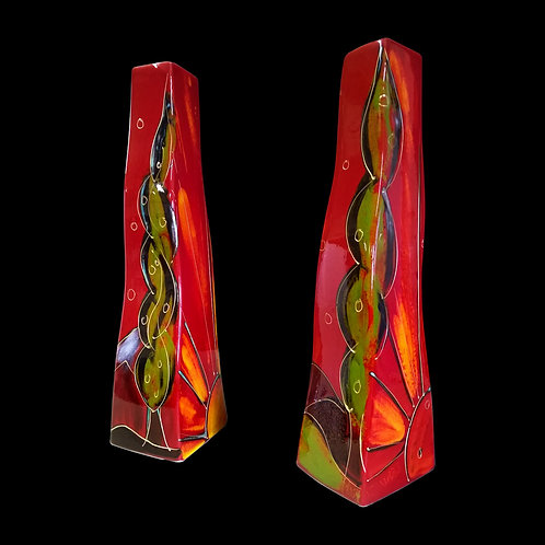 Painted to order please allow 7 to 21 days Sunrise 34cm S Vase