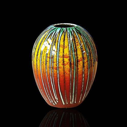 Brimstone Delta Vase 15cm