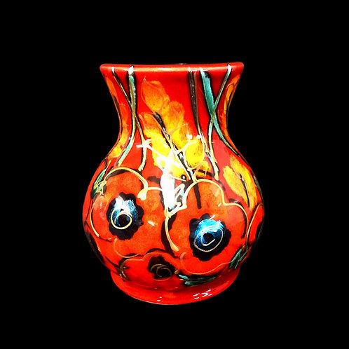 Poppy Field Mini Trojan 10.5 cm Vase