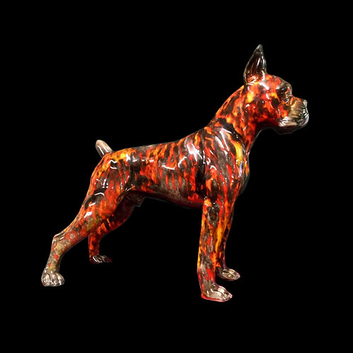 Large American Boxer 46cm Figure please allow 21 days for your dog to be painted