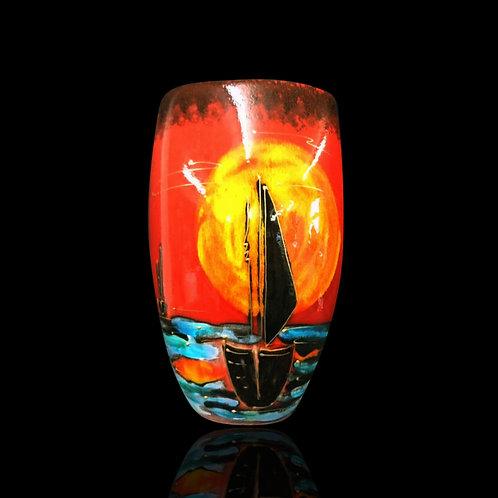 Eventide 19cm Oval Vase