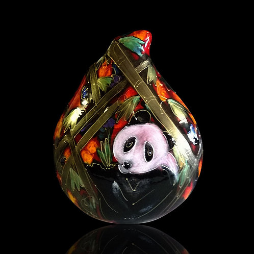 Made to order Panda Teardrop  22cm Vase
