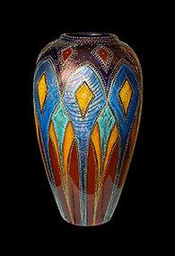Anita Harris Art Pottery Buckingham Palace Vase
