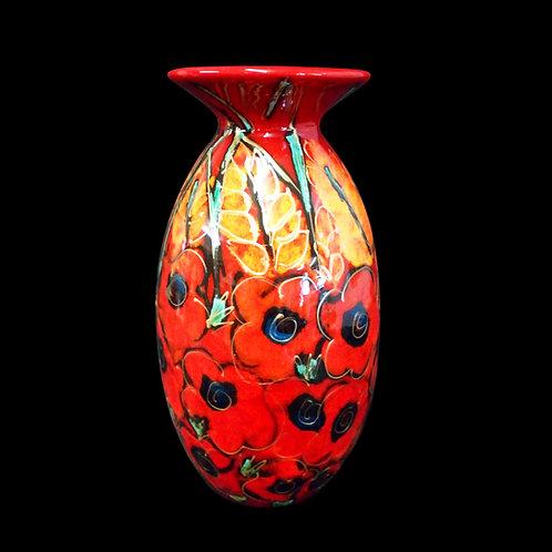 Poppy Field Minos 21cm Vase