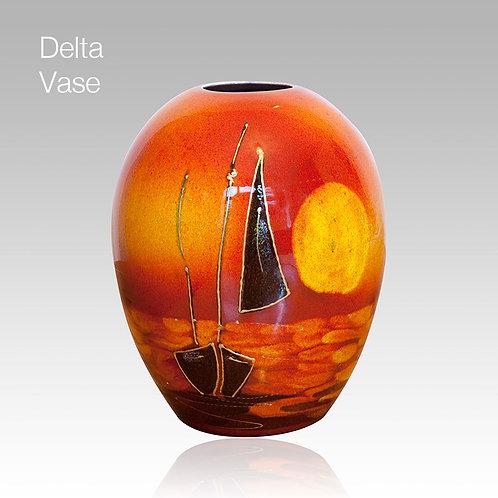 Sailing Home Delta Vase 15cm