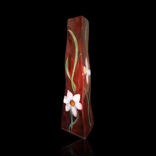 White Daffodil S Vase
