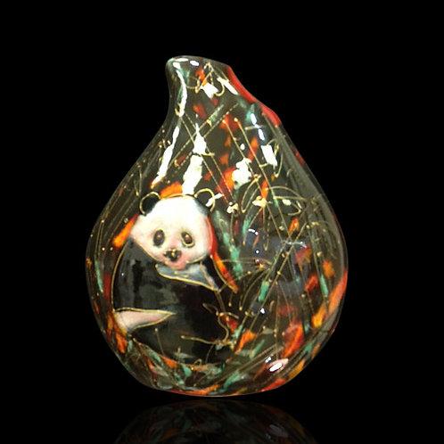 Panda Teardrop Vase Trial