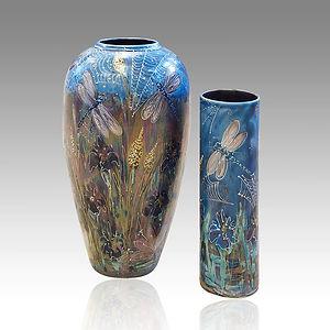 Lustre Glaze Vases
