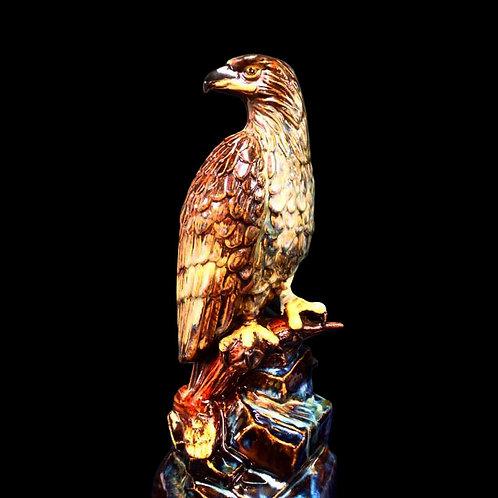 Stoneware Eagle Figure