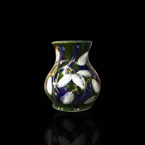 Snowdrop Trojan Vase 10.5cm allow 21 days