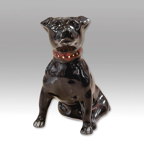 Painted to order please allow 14 days stunning 12cm Staffordshire Bull Terrier