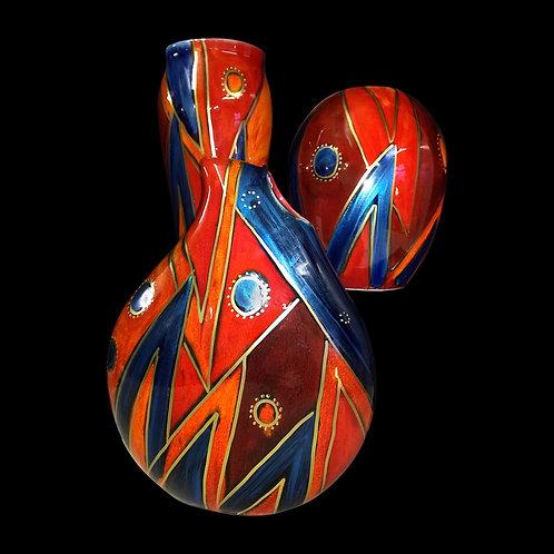 22cm teardrop vase