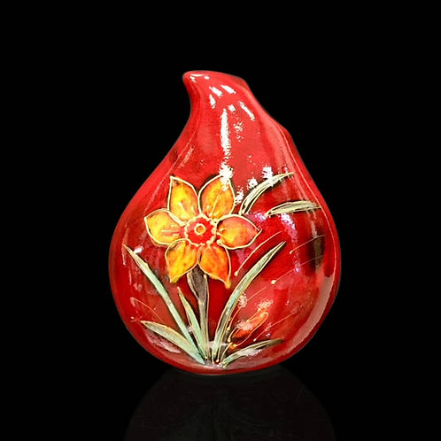 Daffodil Teardrop Vase 22cm