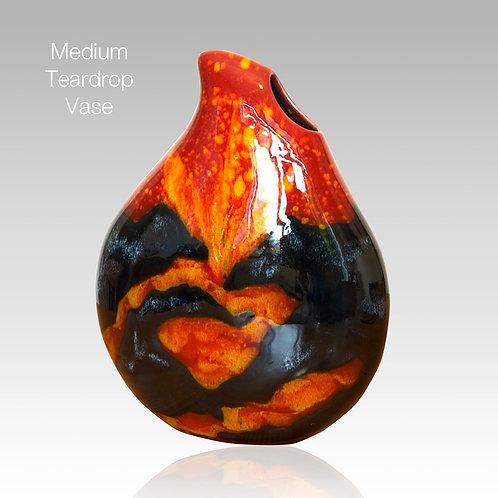 Volcano Teardrop Vase 22cm
