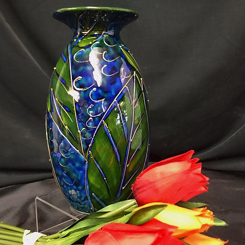 Made to order Blueberries Minos 21cm Vase