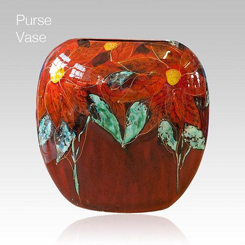 Mexicania Large Purse Vase 19cm