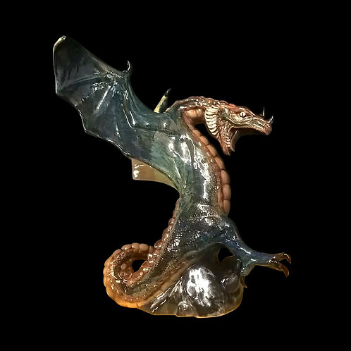Large Stoneware Dragon please allow 21days for us to make and paint