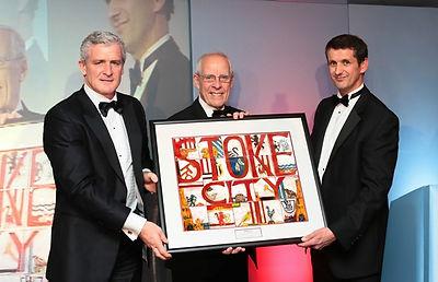 Mark Hughes Stoke City FC Charity Ball