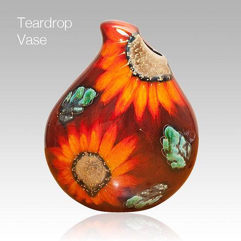 Vincent Teardrop Vase 22cm
