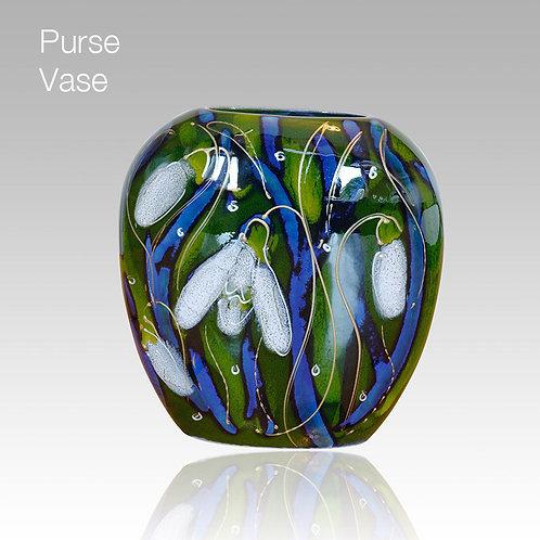 Snowdrop Purse Vase 12cm