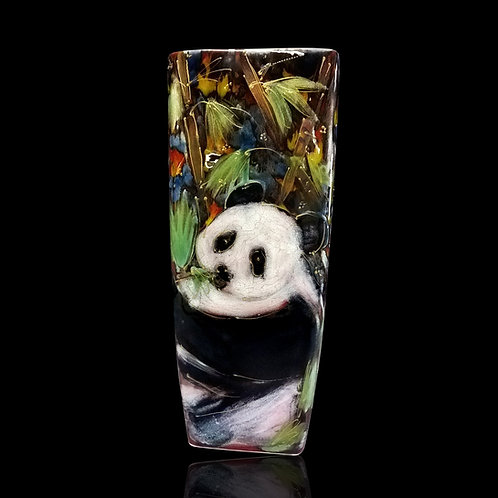 Panda Square Vase