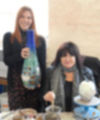 Anita Harris and Samantha Johnson Pottery