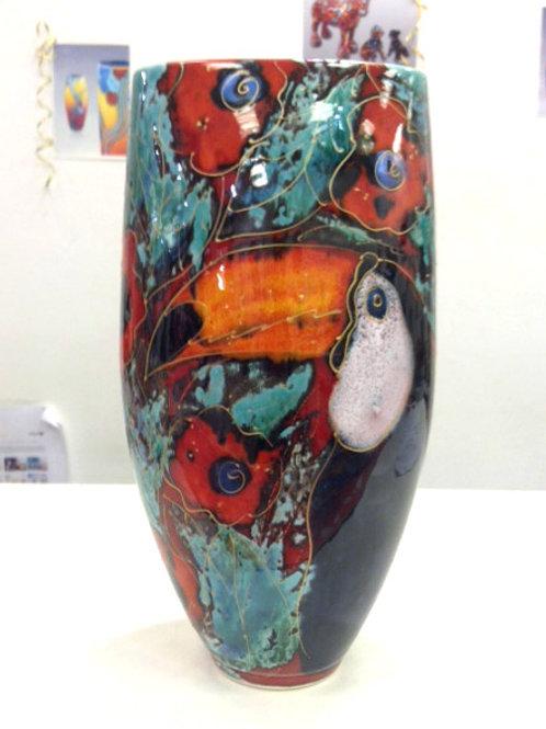 Toucan Trial Vase 24cm