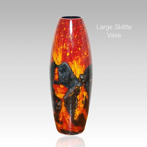 Volcano Large Skittle Vase 32cm